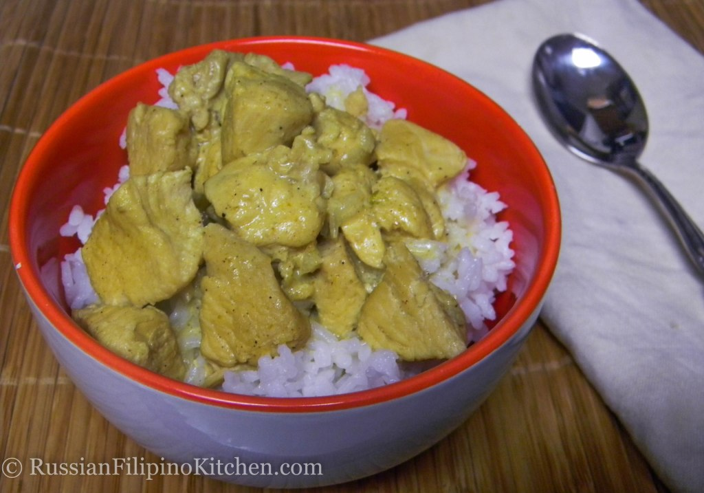 chicken breast curry