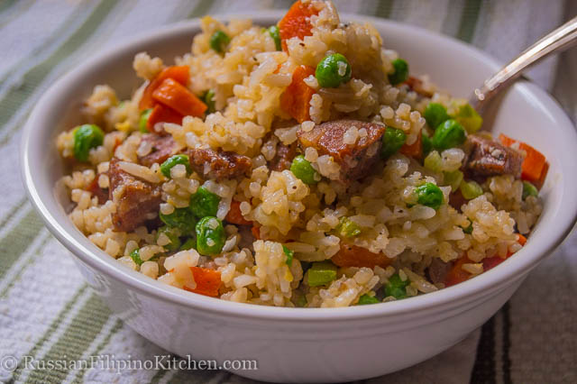 Italian sausage fried rice russian filipino kitchen italian sausage fried rice ccuart Choice Image