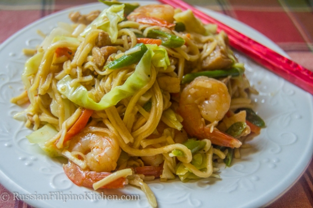 how to cook special pancit canton guisado