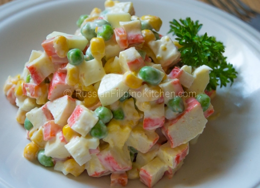 Russian Crab and Corn Salad 10