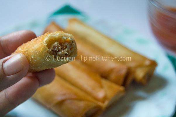 Easy Lumpia Shanghai Filipino Meat Filled Egg Rolls