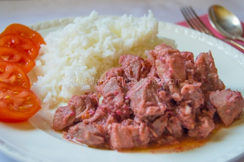 Pork Binagoongan (Pork With Salted Shrimp Paste) 01