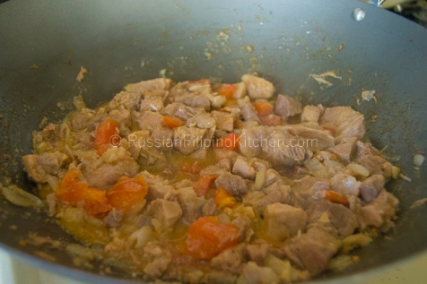 Pork Binagoongan (Pork With Salted Shrimp Paste) 09