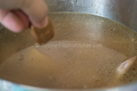Tinolang Manok (Filipino-style Chicken Soup) 11