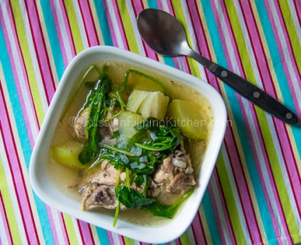 Tinolang Manok (Filipino-style Chicken Soup) 16